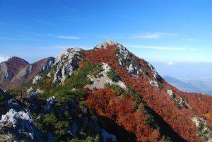 La cima di Montea vista dall'anti-cima. Ph F. Bevilacqua