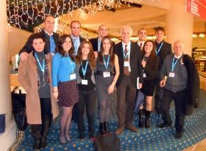 2013- Carerj al  Congresso  della SIC, Società italiana di Cardiologia, insieme a colleghi e specializzandi