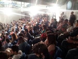 un'immagine del pubblico nel corso dell'incontro su Codice antimafia e beni confiscati.