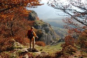 Pollino. Monte Alpi.Cresta Sud. Foto F. Bevilacqua
