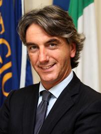 Il presidente della II Commissione Giuseppe Aieta