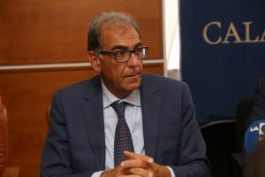 il vicepresidente della Regione prof Antonio Viscomi