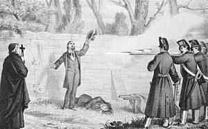 Attilio ed Emilio Bandiera furono due patrioti italiani, eroi del Risorgimento. Furono giustiziati per fucilazione dalla giustizia borbonica in Calabria nei pressi di Cosenza il 25 luglio 1844 dopo un fallito tentativo di sollevare le popolazioni locali del regno delle Due Sicilie contro il governo di Ferdinando II.