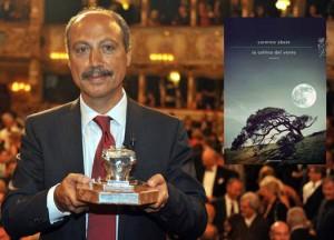 """Carmine Abate, vincitore della 50° edizione del premio Campiello con """"La collina del vento"""" (Mondadori, 2012), al Bookcity di Milano."""