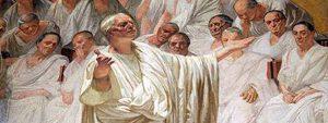 """""""Cicerone - scrive Antonino Spadaro - osservava che il caso, molto più della sapienza, incide sulla vita («Vitam regit fortuna, non sapientia»)."""