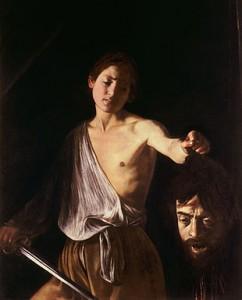 Davide con la testa di Golia è un dipinto a olio sutela (125x100 cm) realizzato tra il 1609 ed il 1610 dal pittore italiano Michelangelo Merisi da Caravaggio.