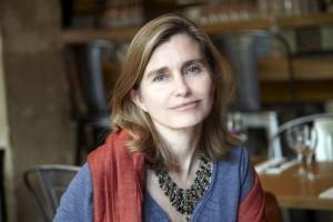 La scrittrice Florence Noiville ha presentato IL suo nuovo libro (Quella sottile affinità, ed. Garzanti) in occasione delle Giornate romane della francofonia presso l' Ambasciata di Francia in Italia.