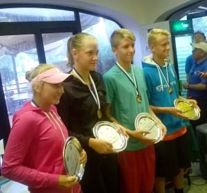 I vincitori della passata edizione (Potapota, Miletic, Valkusz e Khun)