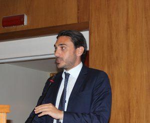 Il presidente del Consiglio regionale, Nicola Irto