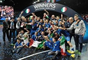 Italia Campione d'Europa nel Calcio a 5.