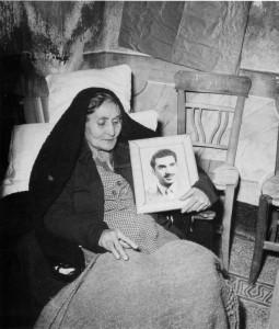 La madre di Gaspare Pisciotta.