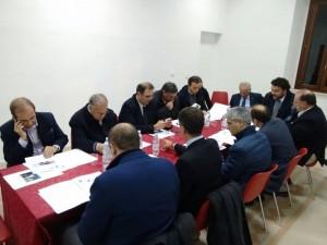 Lazzaro - Assemblea sindaci Area Stretto