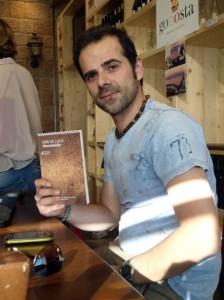 Lo sceneggiatore e direttore artistico di Cinemalab Luigi Boccia.