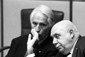 Il presidente del Coni Giovanni Malagò e il presidente del Coni Calabria Maurizio Condipodero