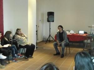 Ragazzi partecipanti allo stage di canto ed interpretazione.