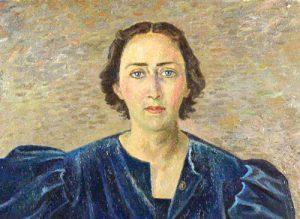 Il ritratto di Maria Elia De Seta Pignatelli realizzato dal pittore futurista Severini