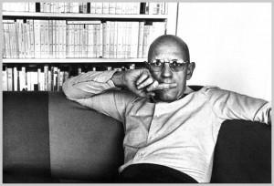 Il filosofo Francese Michel Foucault.