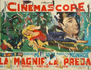 Mimmo Rotella, Cinemascope 3, 1963-1990, décollage, MAON, Rende.