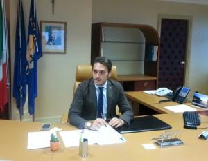 Il presidente del Consiglio regionale Nicoal Irto
