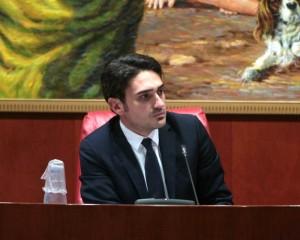 Il presidente del Consiglio regionale Nicola Irto