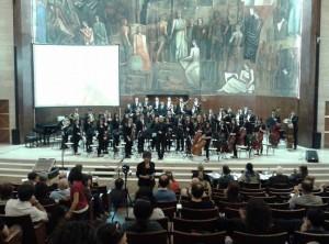 L'orchestra sinfonica giovanile della Calabria
