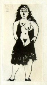 Pablo Picasso, La Célestine, 1968, MAON, Rende