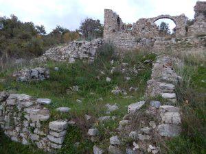 Parco Acherentia in rovina