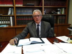 Il rettore dell'Università Mediterranea di Reggio Calabria Pasquale Catanoso