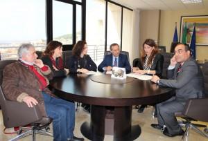 da sinistra: De Angelis, Ranieri, Diano, Battaglia, Roccisano e Femia