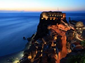Il castello Ruffo di Scilla (Rc)