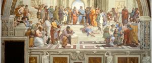 Scuola di Atene primo piano