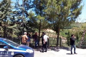 Il consigliere Arturo Bova durante un sopralluogo a Petilia di Policastro