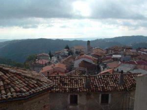 Un'immagine del borgo di Cerca, comune della Presila catanzarese.
