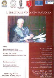 eredita di Vincenzo Panuccio