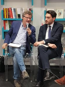 Claudio Cavaliere e Nicola Irto