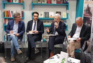 da sinistra: CLaudio Cavaliere, Nicola Irto e Luciano Violante