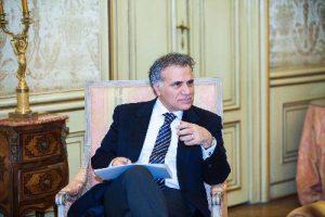 L'ambasciatore d'Italia a Vienna Giorgio Marrapodi.