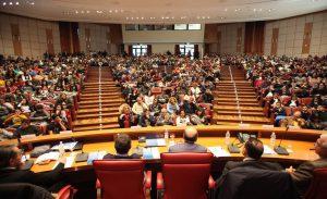 l'Auditorium durante la manifestazione