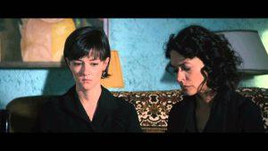 """Marta Gastini e Maria Grazia Cucinotta in una scena della """"Moglie del sarto"""""""