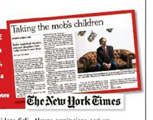 Il giudice Roberto Di Bella intervistato dal New York Times.