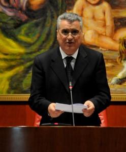 Il presidente del Consiglio Antonio Scalzo