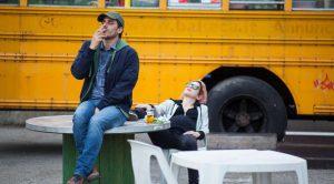 """Luca Marinelli e Isabella Ragonese in una scena del film di Fabio Mollo """"Il padre d'Italia"""""""