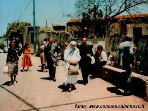 Visita Madre Teresa di Calcutta Calanna